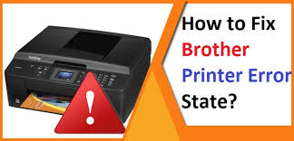 Brother Printer is in Error State