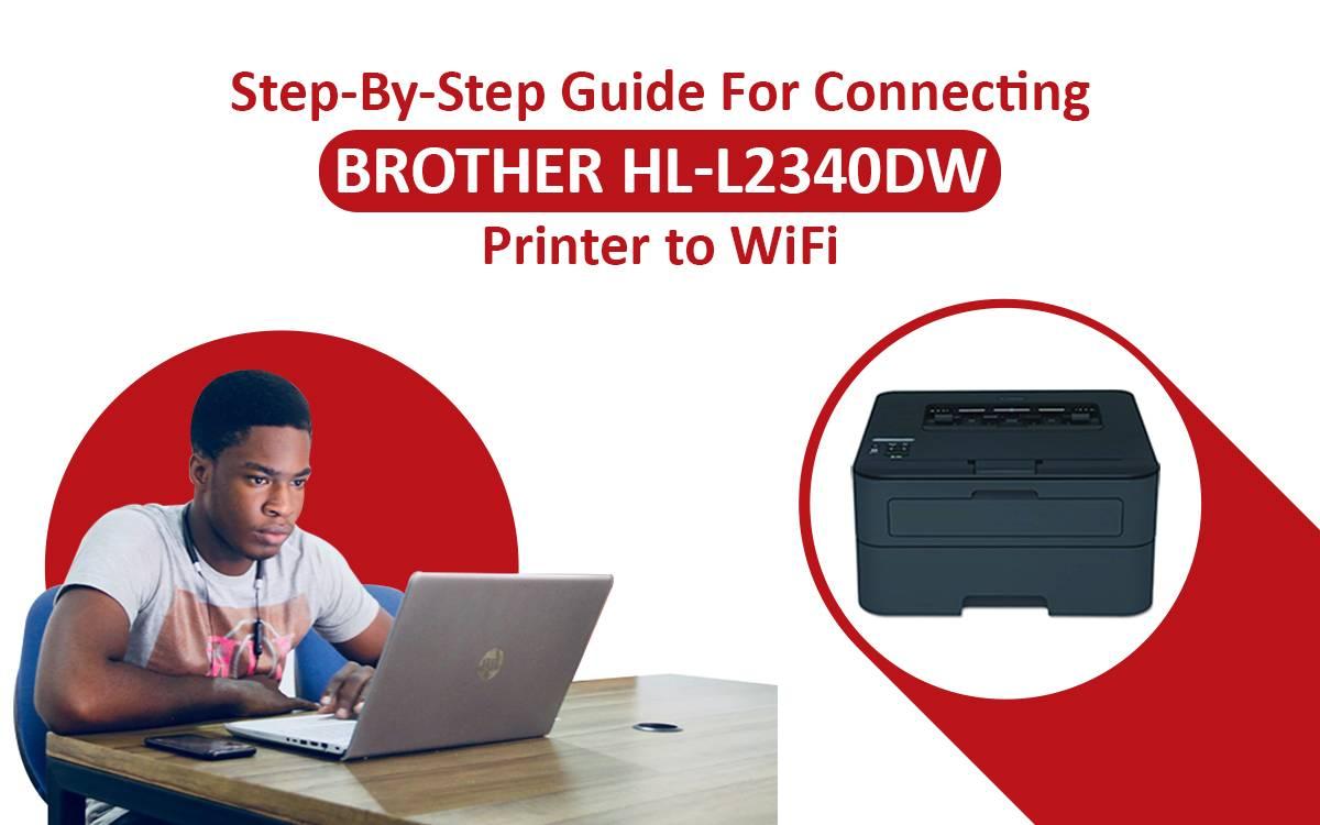 Brother HL l2340dw Wireless Setup